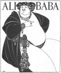 Aubrey Beardsley's Ali Baba.