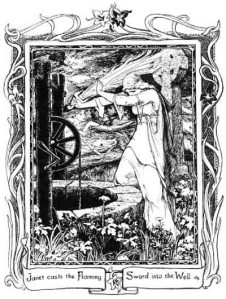 John D. Batten illustrated Joseph Jacobs' Fairy Tale books, including this image from his 1894 More English Fairy Tales.