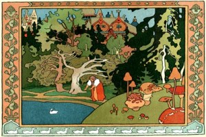 Illustration by Ivan Bilibin for The White Duck.
